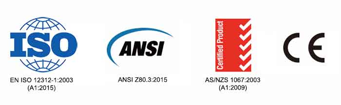 ISO_ANSI_NZS_CE standards