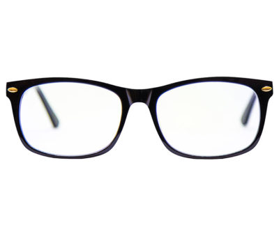 Electrum blue light glasses with negative ions and far infrared