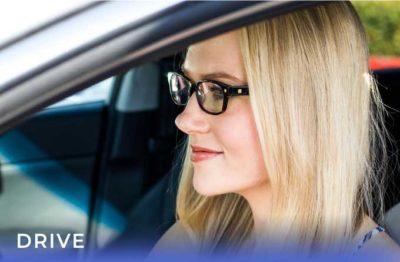 stylish blue light blocking glasses